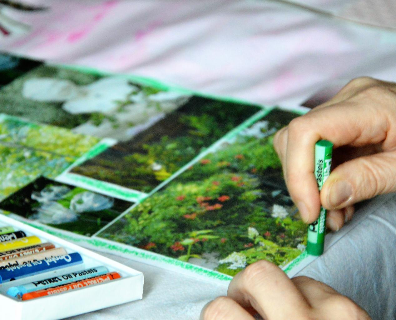 Ateliers : quelques photos